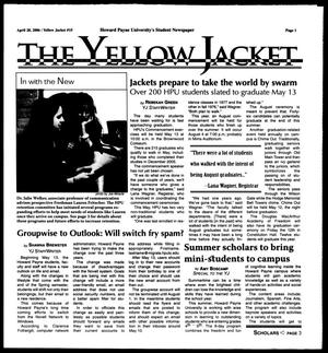 Primary view of object titled 'The Yellow Jacket (Brownwood, Tex.), No. 15, Ed. 1, Friday, April 28, 2006'.