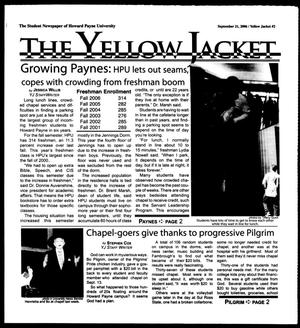 Primary view of object titled 'The Yellow Jacket (Brownwood, Tex.), Vol. 97, No. 2, Ed. 1, Thursday, September 21, 2006'.