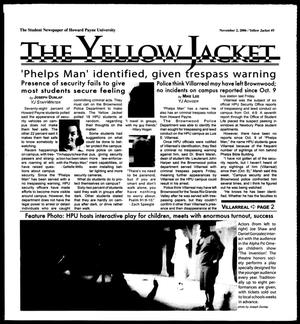 Primary view of object titled 'The Yellow Jacket (Brownwood, Tex.), Vol. 97, No. 5, Ed. 1, Thursday, November 2, 2006'.