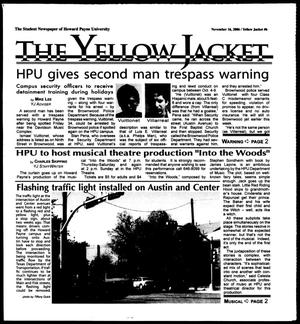 Primary view of object titled 'The Yellow Jacket (Brownwood, Tex.), Vol. 97, No. 6, Ed. 1, Thursday, November 16, 2006'.