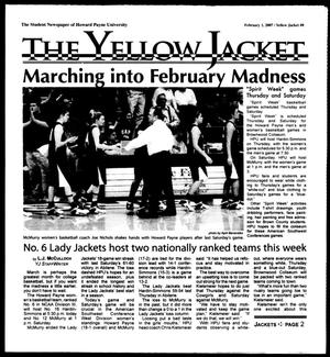 Primary view of object titled 'The Yellow Jacket (Brownwood, Tex.), Vol. 97, No. 8, Ed. 1, Thursday, February 1, 2007'.