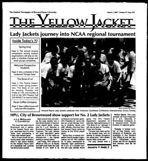 Primary view of object titled 'The Yellow Jacket (Brownwood, Tex.), Vol. 97, No. 10, Ed. 1, Thursday, March 1, 2007'.