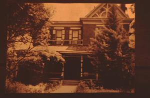 Primary view of object titled '[Davis House, (east)]'.