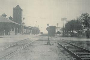 Primary view of object titled '[Texas & Pacific RR Depot]'.