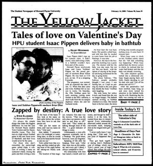 Primary view of object titled 'The Yellow Jacket (Brownwood, Tex.), Vol. 98, No. 9, Ed. 1, Thursday, February 14, 2008'.