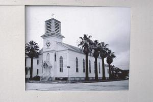 Primary view of object titled '[St. Joseph's, (Exterior)]'.