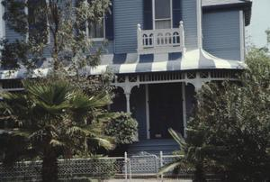 Primary view of object titled '[Hagemann House, (N Façade)]'.