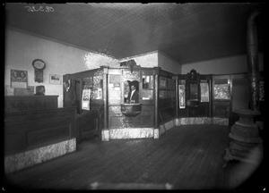 Primary view of object titled '[Teller's Window at First State Bank]'.