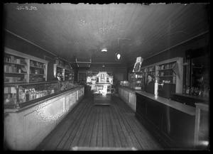 Primary view of object titled '[Interior View of Drug Store]'.
