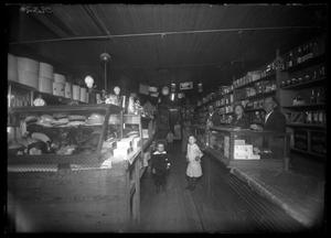Primary view of object titled '[Interior View of T. O. Arnold Store]'.