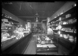 Primary view of object titled '[Interior View of Variety Store]'.