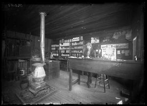 [Interior View of Panhandle Lumber Yard]