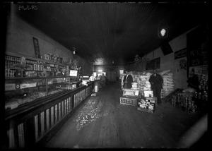 Primary view of object titled '[Interior View of J. J. Long's Store]'.