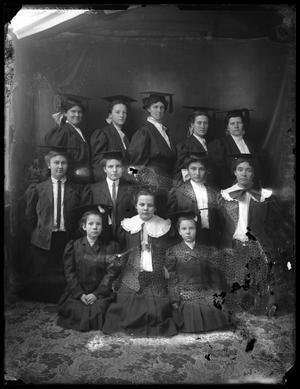 Primary view of object titled '[Portrait of Graduates]'.