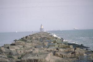 Primary view of object titled '[South Jetty Light]'.