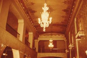 Primary view of object titled '[Plaza Theater, (Interior)]'.