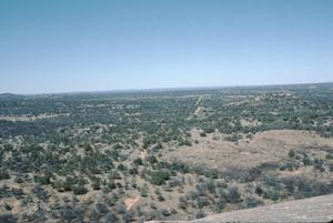 Primary view of object titled '[Enchanted Rock, (looking north)]'.