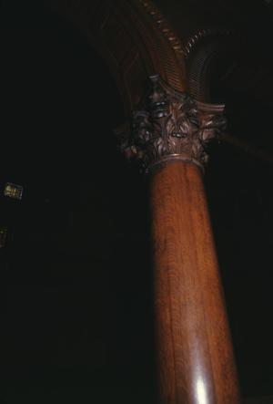 Primary view of object titled '[Sealy House, (Column Detail)]'.