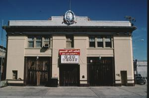 Primary view of object titled '[Dallas Fire Station, (East View)]'.