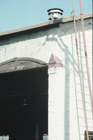 Primary view of object titled '[Santa Fe Roundhouse]'.