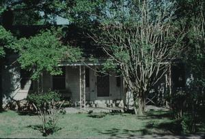 Primary view of object titled '[August Baron House, (West Elevation)]'.