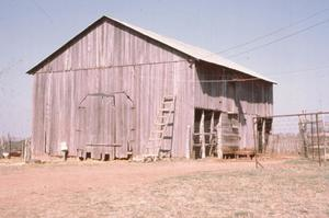 Primary view of object titled '[Willie Sagebiel Barn]'.