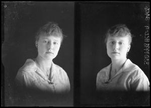 Primary view of object titled '[Portraits of Woman with Jewelry]'.