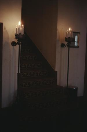 Primary view of object titled '[Faust Hotel, (lobby stair)]'.