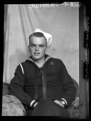 Primary view of object titled '[Portrait of Navy Man]'.