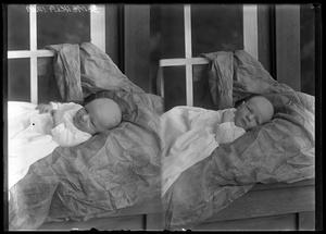 Primary view of object titled '[Portraits of Infant]'.