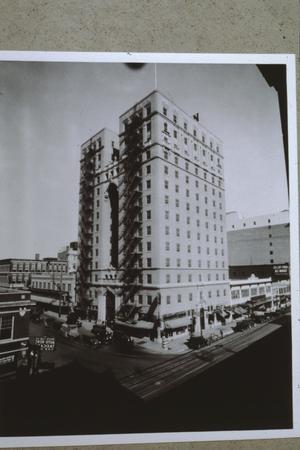 Primary view of object titled '[Hilton (Plaza) Hotel]'.