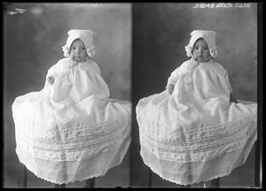 Primary view of object titled '[Baby in Long White Gown]'.