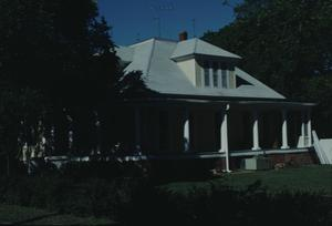 Primary view of object titled '[T. A Hassler House, (W Elevation)]'.