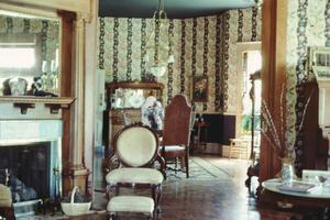 Primary view of object titled '[Strickland - Sawyer House, (Interior)]'.