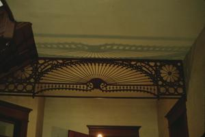 Primary view of object titled '[Trout House, (entry hall ceiling)]'.
