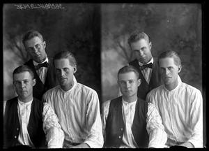 Primary view of object titled '[Portraits of Men]'.