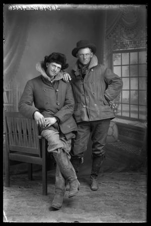 Primary view of object titled '[Portrait of Two Men]'.