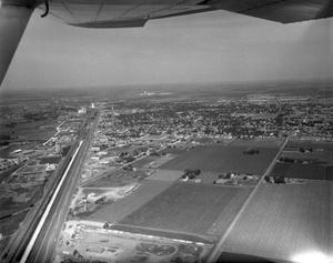 Primary view of object titled '[Hereford, Texas from Above]'.