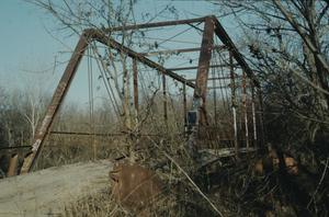 Primary view of object titled '[Old Alton Bridge, (West End)]'.