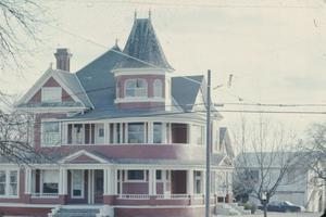 Primary view of object titled '[Strickland - Sawyer House, (Exterior)]'.