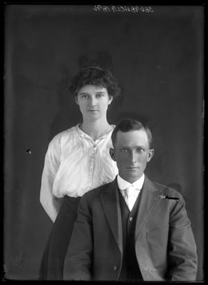 Primary view of object titled '[Portrait of Man and Woman]'.