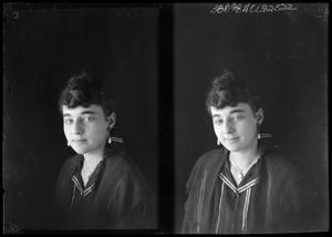 Primary view of object titled '[Portraits of Woman in Earrings]'.
