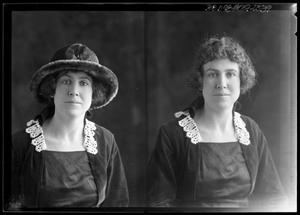 Primary view of object titled '[Portraits of a Woman]'.