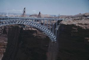 Primary view of object titled '[Bridge over Glen Canyon]'.