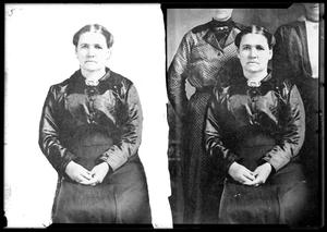 Primary view of object titled '[Photographs of a Woman]'.