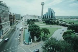Primary view of object titled '[Dealey Plaza]'.