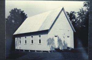 "Primary view of object titled '[Mt Zion ""Baptist Church of Christ""]'."