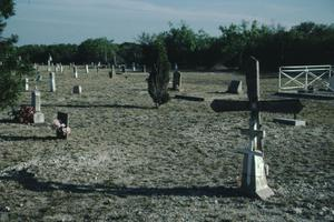 Primary view of object titled '[Brackettville Cemetery]'.