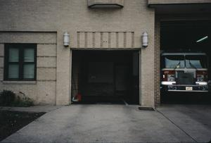 Primary view of object titled '[Austin Central Fire Station No. 1]'.