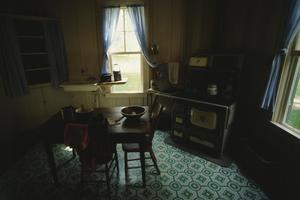 Primary view of object titled '[LBJ Boyhood Home]'.